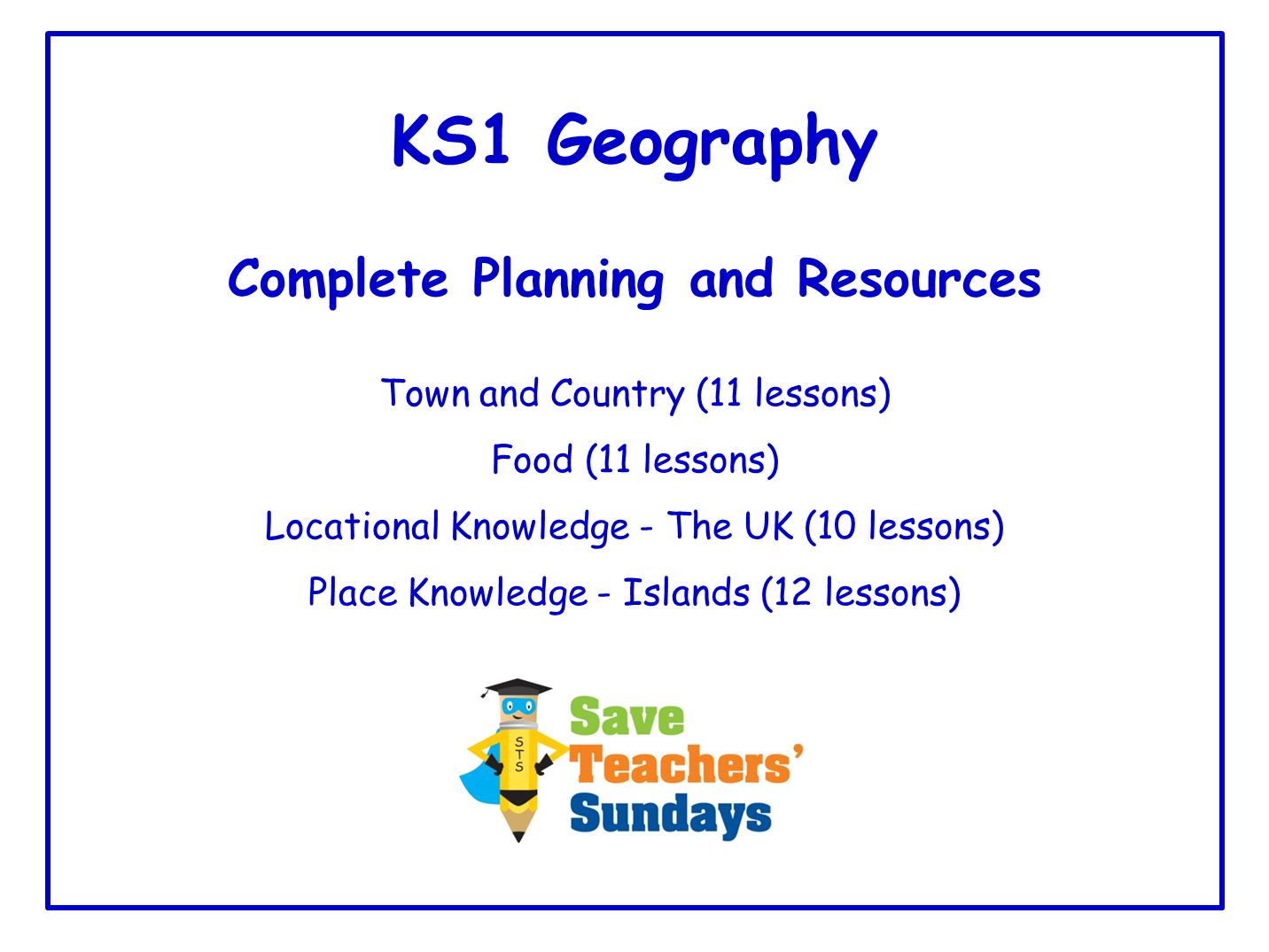 KS1 Geography Bundle