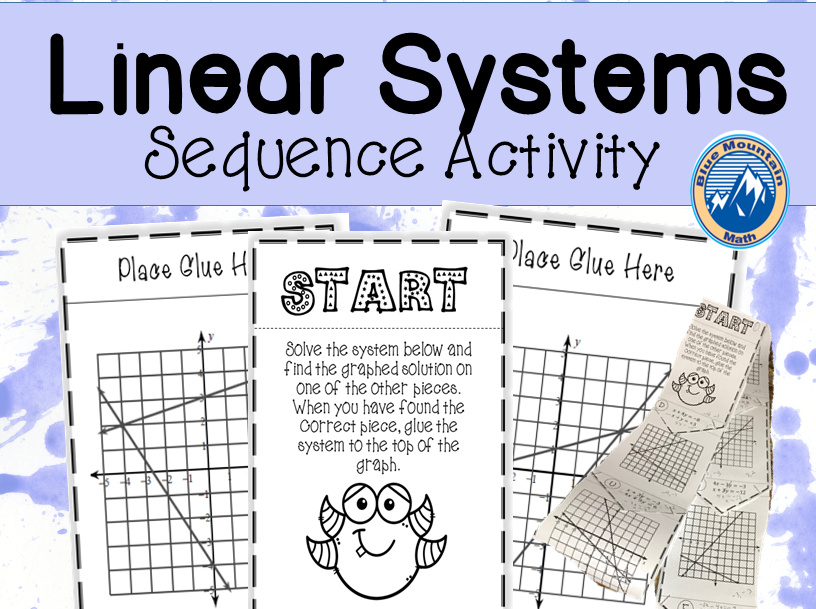Linear Systems Sequence Activity