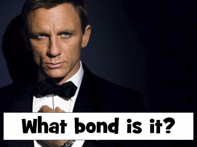 Revision starter/plenary - GCSE Bonding - What type of bond is it?