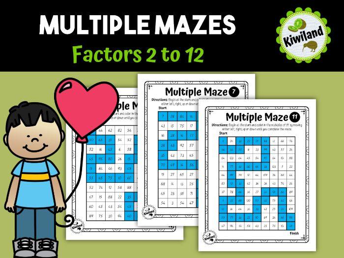 Multiple Maze Factors to 12