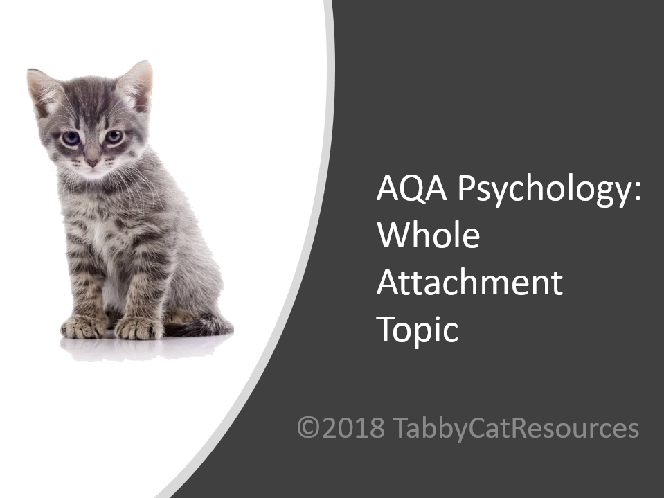 AQA Psychology A Level Whole Attachment Topic