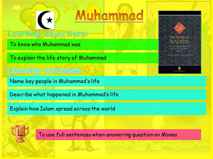 Abrahamic Religious Key Figures: Muhammad