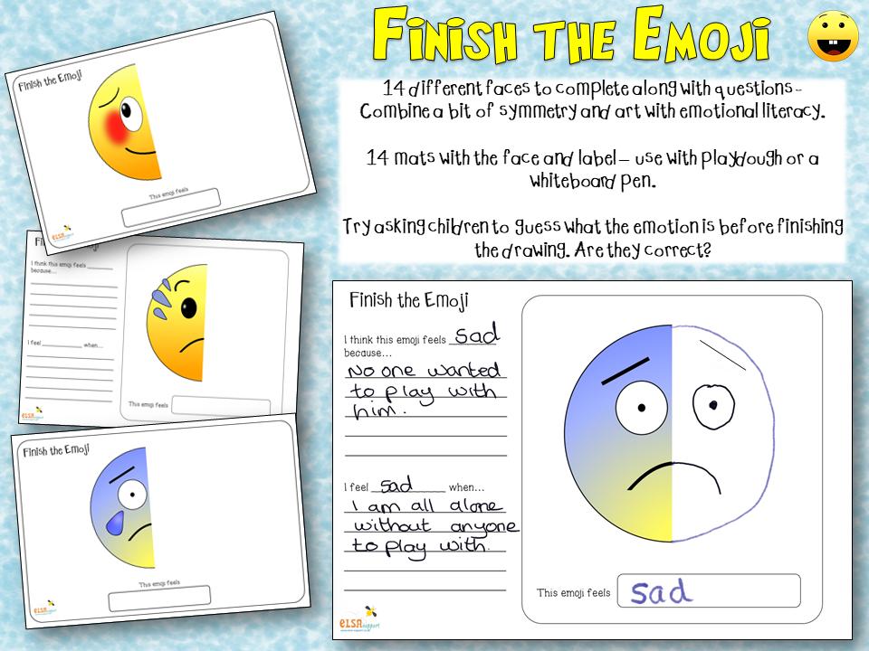 Finish the Emoji - emotions