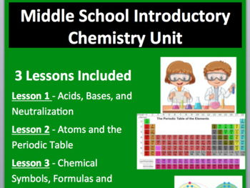 Middle School Introductory Chemistry Unit
