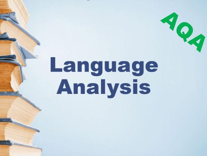 Language Analysis for AQA GCSE