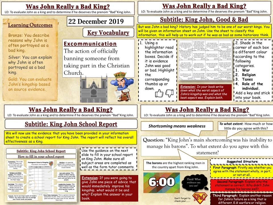 King John: Was He Really a Bad King?