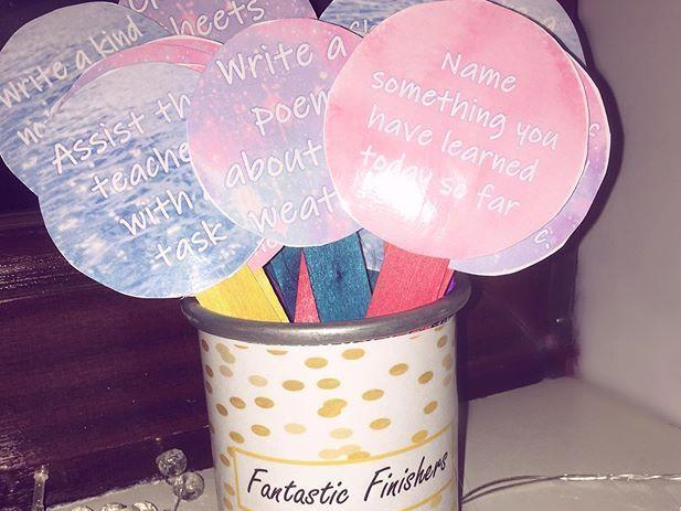 Fast Finisher Lollipop Tasks