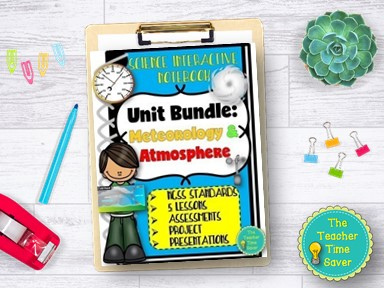 Weather Climate Meteorology Atmosphere Curriculum Bundle
