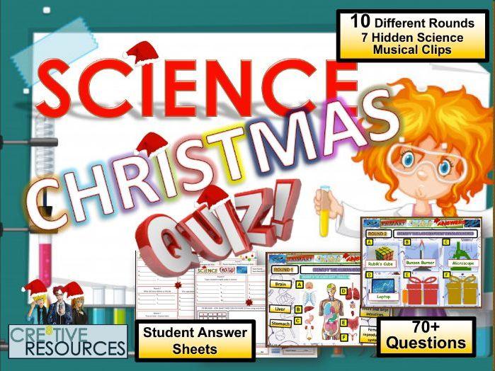 Science Christmas Quiz 2019