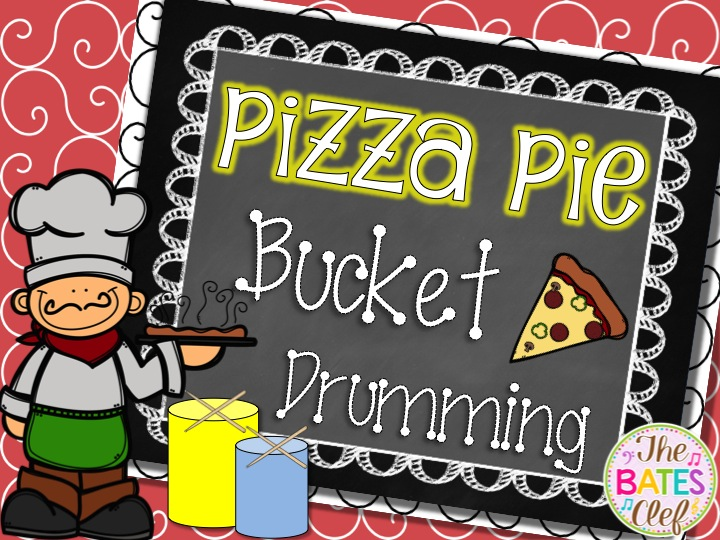 Pizza Pie Bucket Drumming