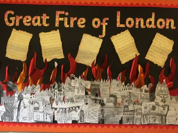 Great Fire of London Class Assembly with a Modern Twist