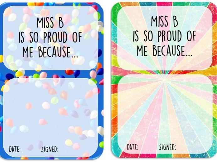 Positive Praise Cards