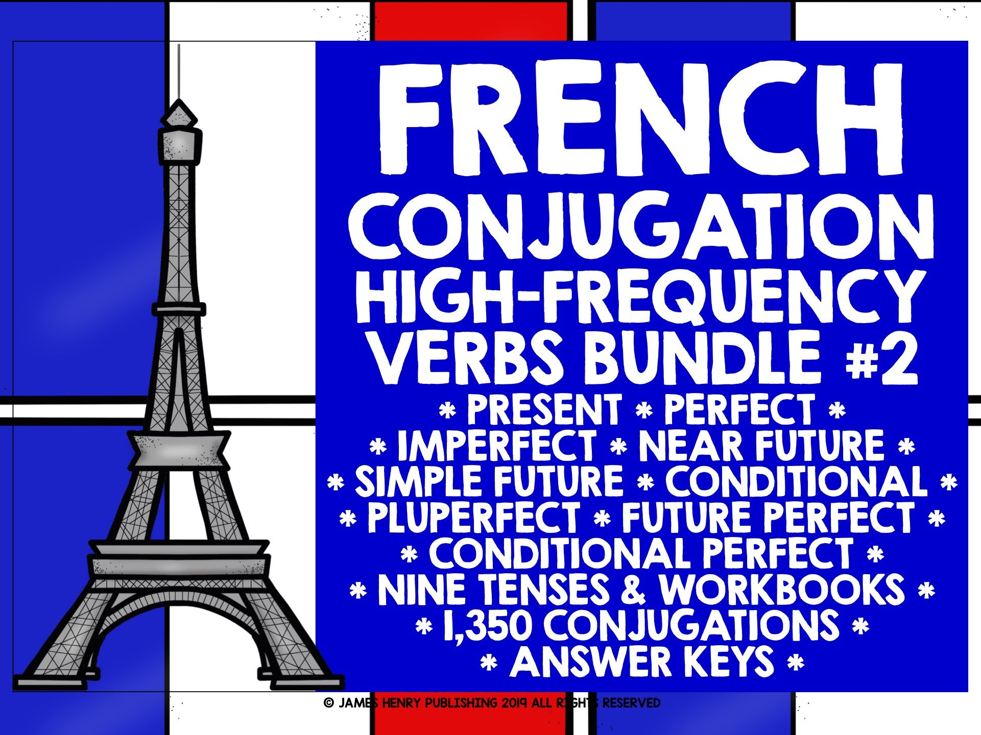 FRENCH HIGH-FREQUENCY VERBS BUNDLE 2