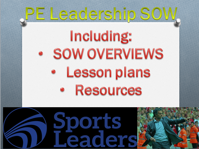PE Leadership SOW (SOW overview+ 7 lessons+11 resource cards)