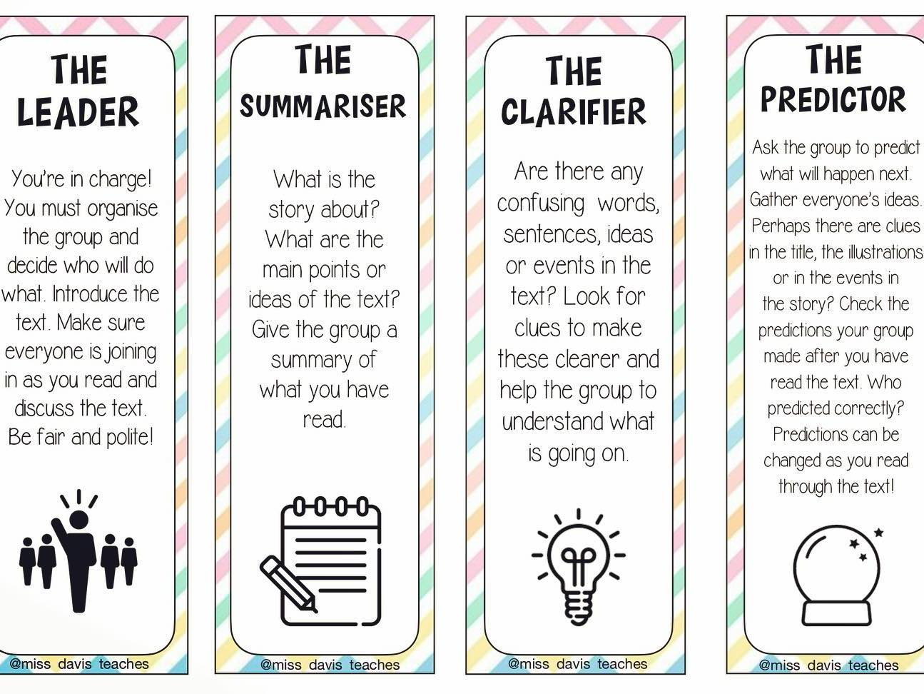 Reciprocal Reading Bookmarks