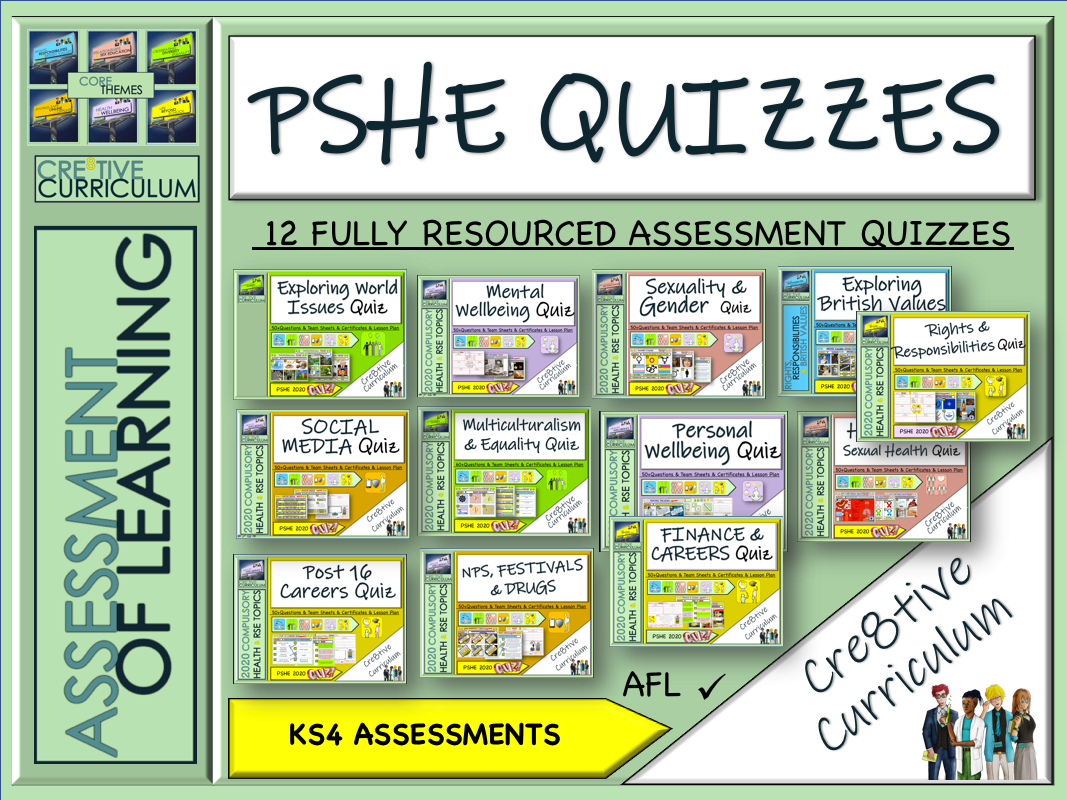 KS4 PSHE Bundle