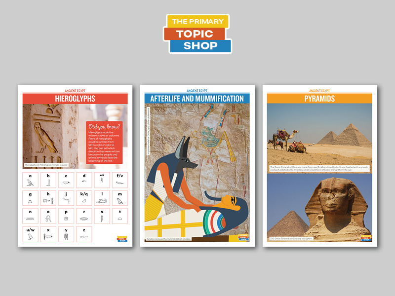 Ancient Egypt - Poster Set