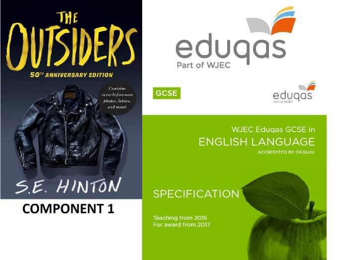 EDUQAS English Language Component 1 Practice Paper. The Outsiders