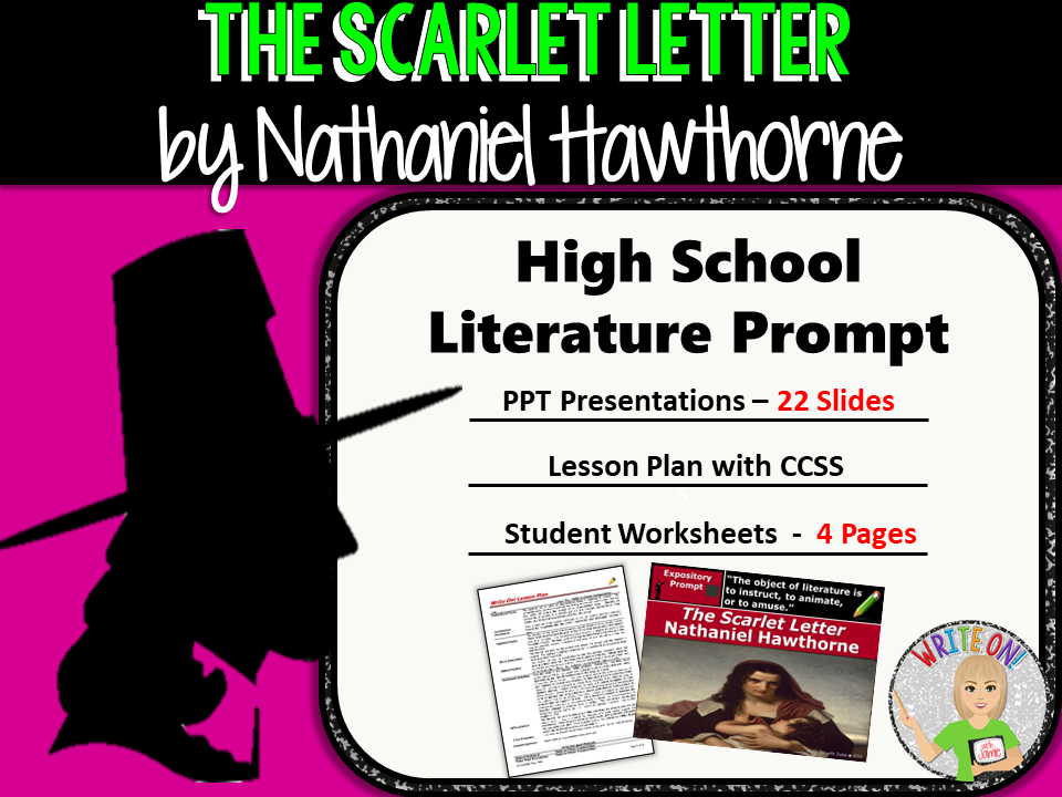 Scarlet Letter by Nathaniel Hawthorne - Text Dependent Analysis ...