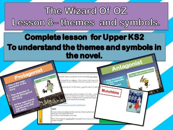 Wizard of Oz - Lesson 9 - The Antagonist