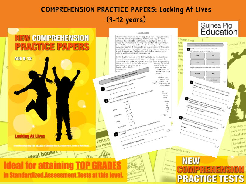 Practise SATs Tests (Looking At People's Lives) 9-12 years