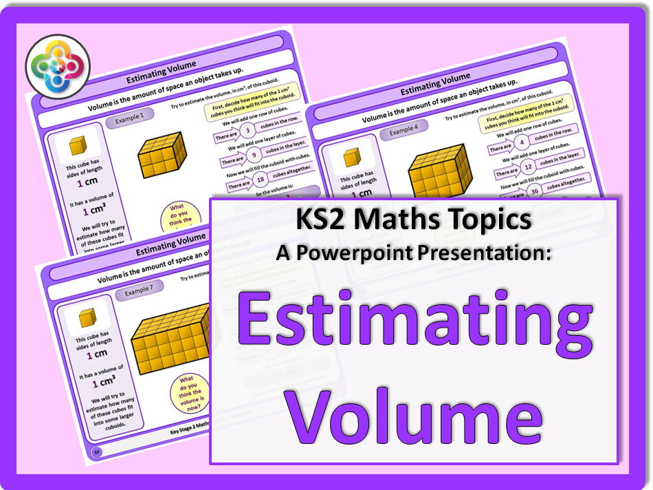 Estimating Volume KS2