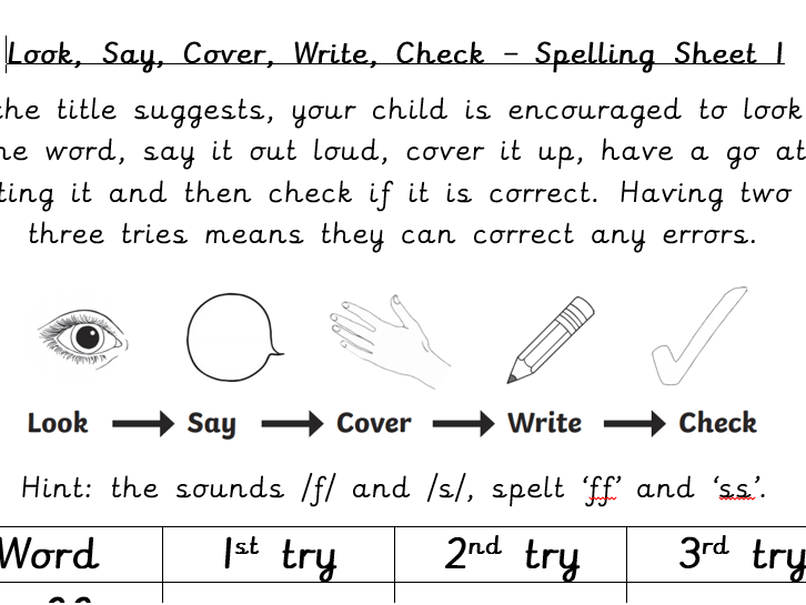 Year 1 weekly spelling pack by SiobhanCoupex - Teaching Resources - Tes