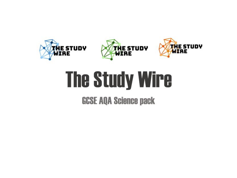 AQA GCSE higher Grade 9-1 Science Pack