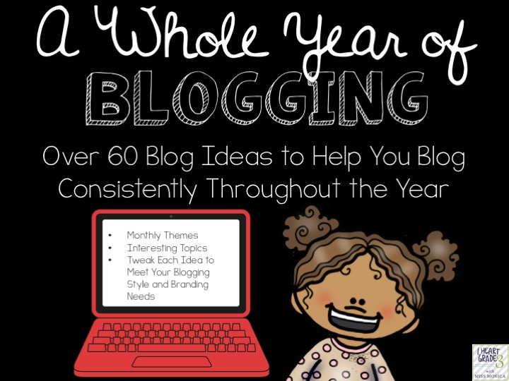 A Whole Year of Blogging Ideas