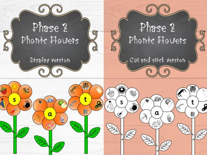 Phase 2 Phonic Flowers