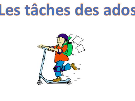 Les travaux menagers_daily routine houseworks
