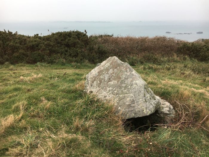 Megalithic Tomb (Dolmen), Alderney, Channel Islands