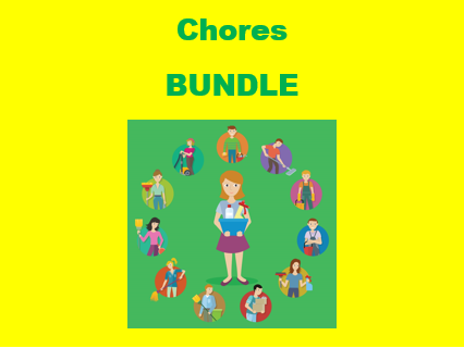 Hausarbeit (Chores in German) Bundle