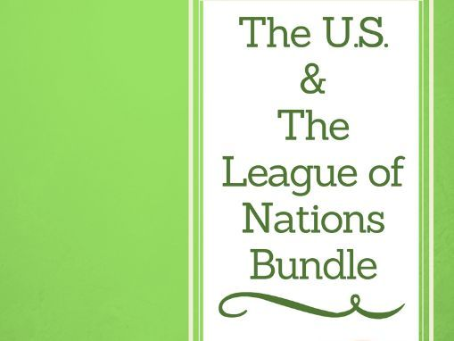 The USA and the League of Nations