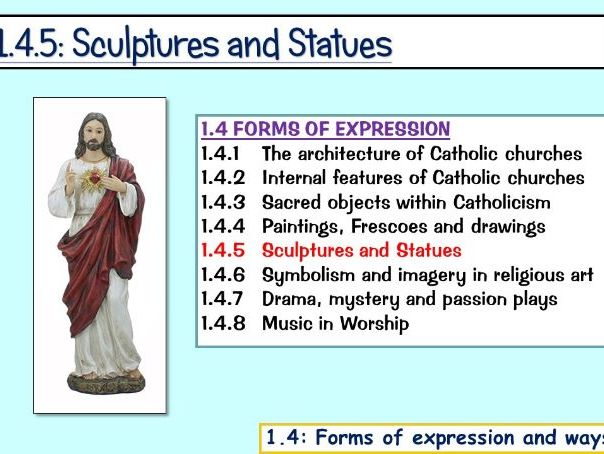 1.4.5: Statues and Sculptures (Edexcel)