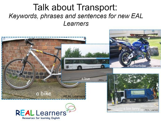 Talk About Transport: Keywords for EAL Learners