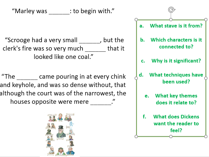 A Christmas Carol Quiz Questions And Answers.A Christmas Carol Comprehensive Quote Quiz By Educationelite
