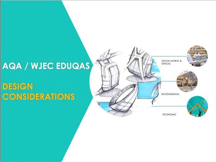 Design Considerations (Social, Moral,Ethical, Environmental & Economic)