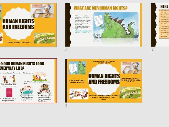 Human rights and freedoms - Year 6 PSHE Curriculum 2020