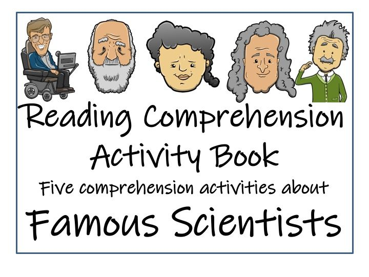 UKS2 Literacy - Famous Scientists - Reading Comprehension Book