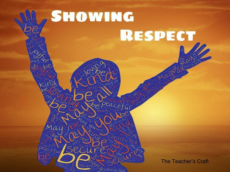 Showing Respect - Presentation, Activity Sheet, Crossword Puzzle and Key