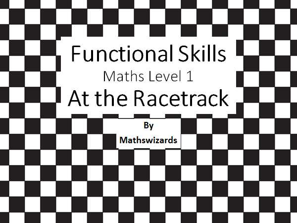 Functional skills Maths level 1: Formula 1(Edexcel)