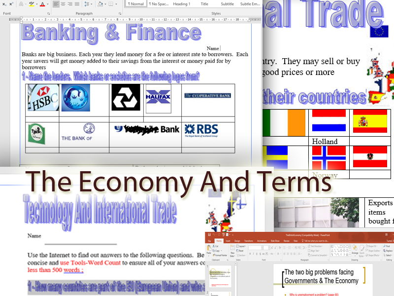Business Studies, Economics And Enterprise - The Economy, Banking, Trade And Government Policy