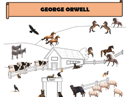 EAL - Animal Farm - Orwell biography (numbers)