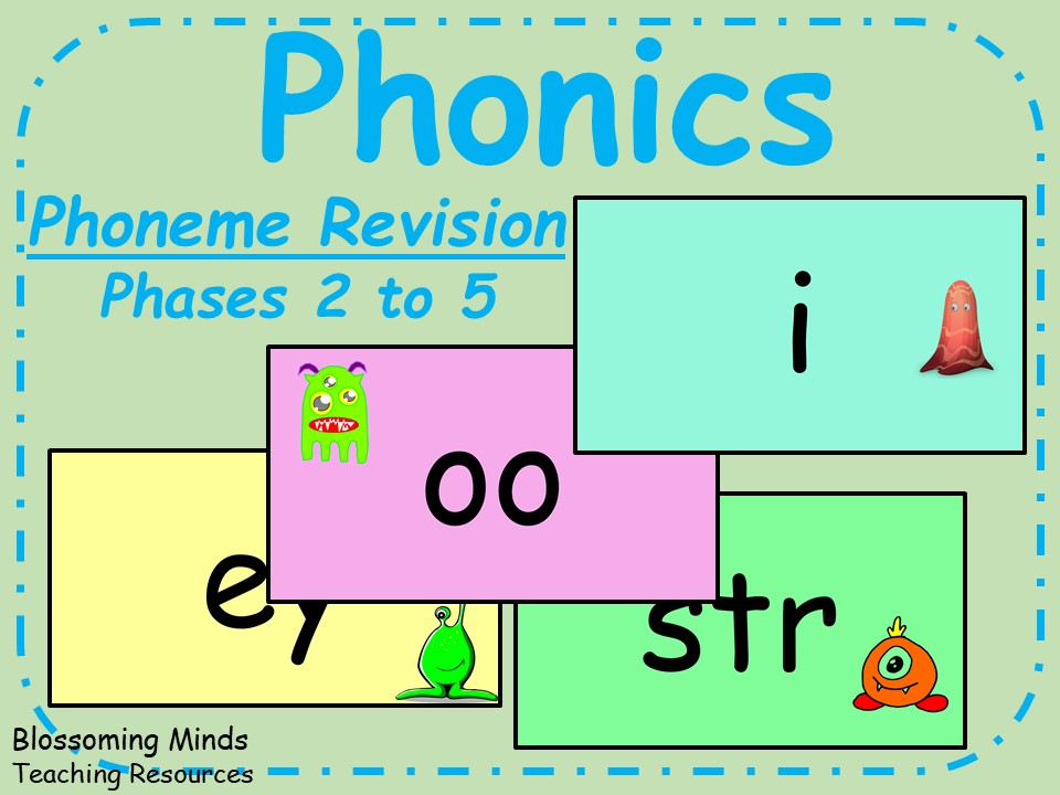 Daily Phoneme Revision - Phases 2 to 5