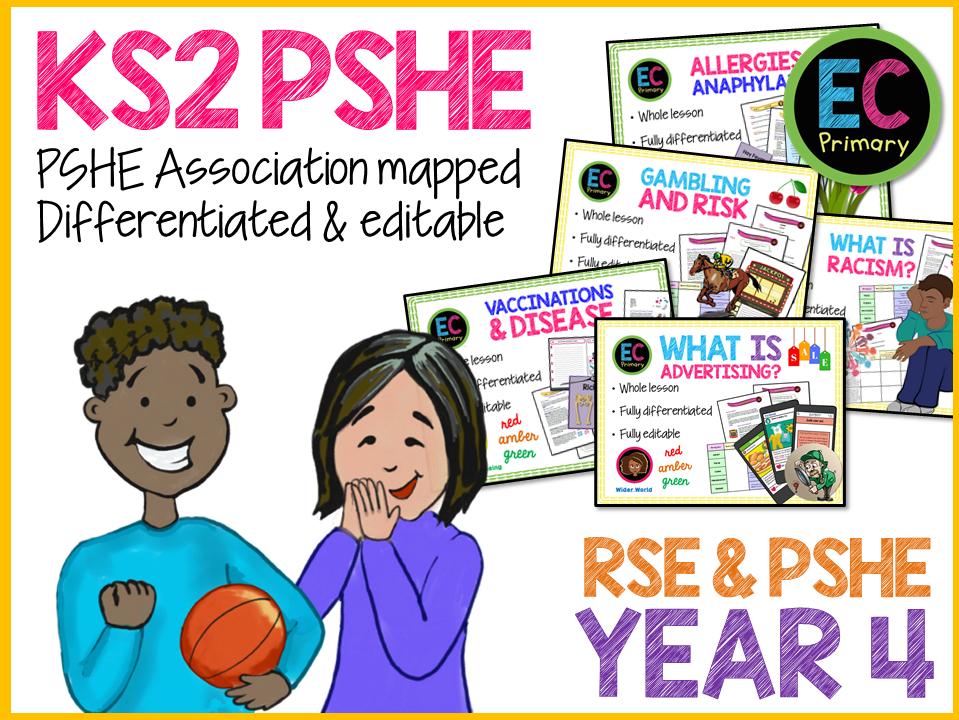 Year 4 Health PSHE