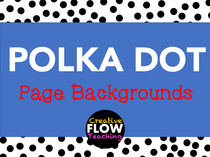 Polka Dot Page Backgrounds