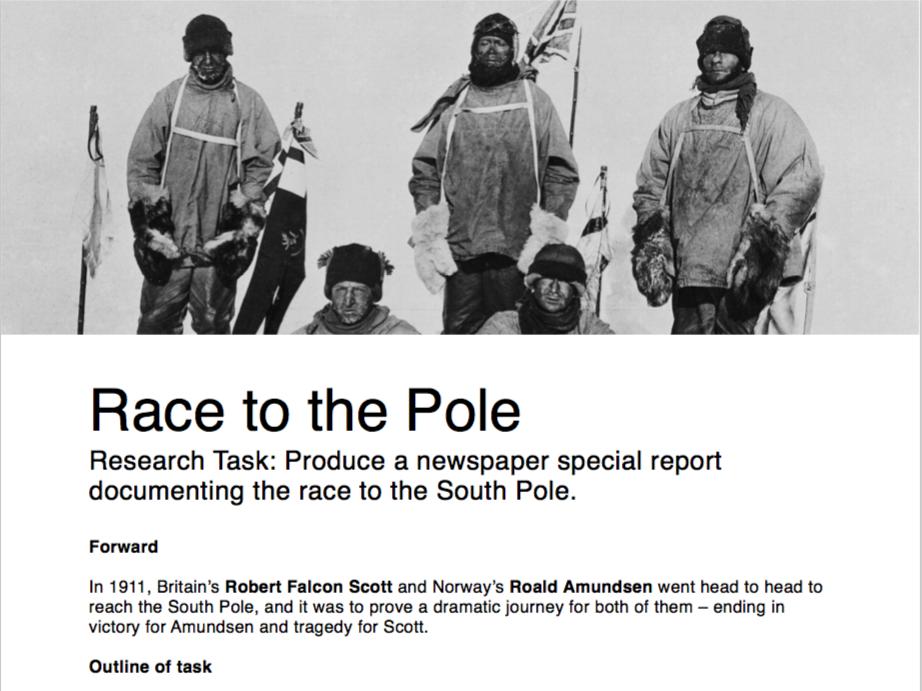 Race to the Pole