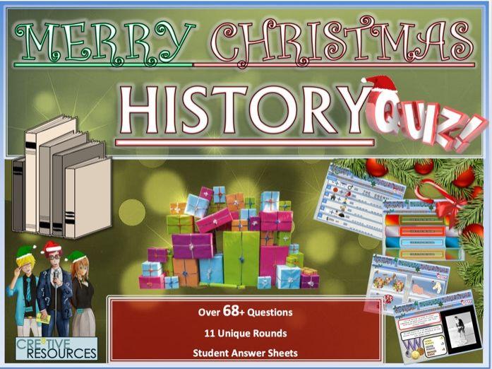 History Quiz Christmas