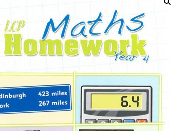 Year 4 Maths Home Learning Pack (40 sheets) including Parental Guidance and Answers